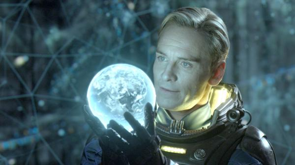 Michael Fassbender plays a replicant in Ridley Scott's <em>Prometheus</em>.