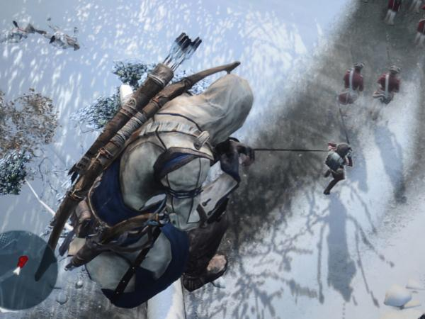 A shot from <em>Assassin's Creed 3.</em>