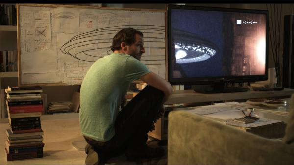 Julián Villagran stars in <em>Extraterrestrial</em> as Julio, a young man who wakes up one morning in a beautiful woman's bed having missed the UFO landing that occurred while they slept.