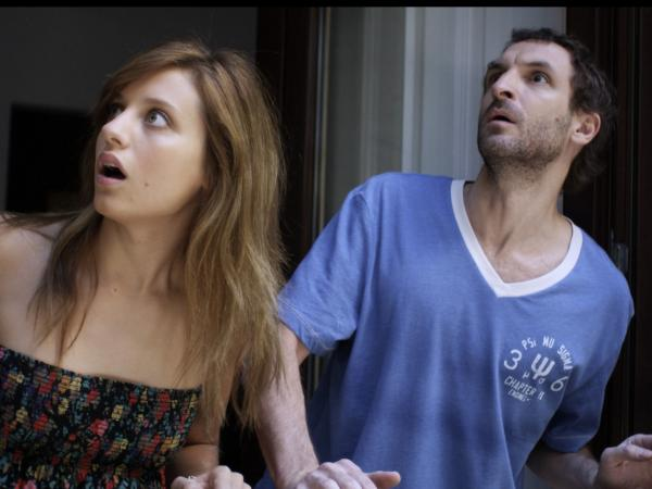 <strong></strong>In <em>Extraterrestrial</em>,<em></em> Julia (Michelle Jenner) and Julio use the alien arrival to divert attention away from their one-night stand.