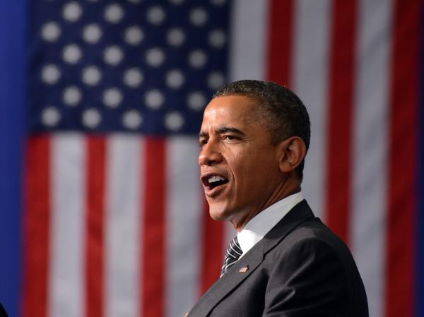 President Barack Obama speaks during an election campaign event in Baltimore on June 12. The political environment Obama faces this election cycle is markedly different from 2008, with concerns over the economy compounding the negative impact of any campaign missteps.