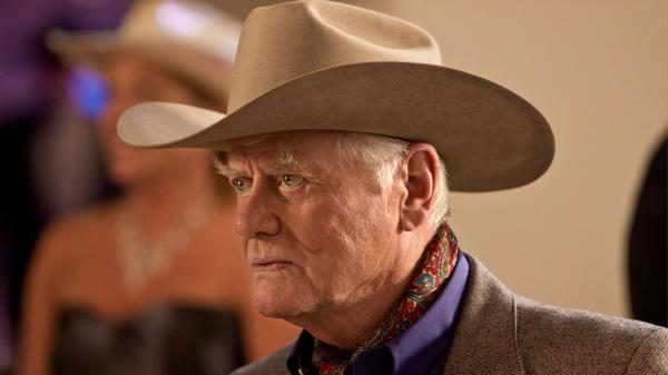 Larry Hagman, as he must, returns to play J.R. Ewing in the rebooted version of <em>Dallas</em>.