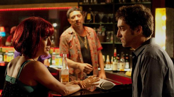 In <em>Americano</em>, Martin (Mathieu Demy) goes on the road to Tijuana in search of Lola (Salma Hayek), who is supposed to inherit Martin's estranged mother's apartment.