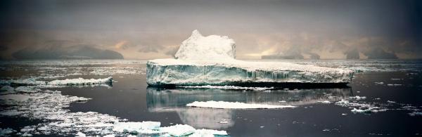 Crumbling Iceberg I, Cape Adare, Antarctica, 2006