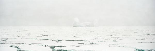 Foggy Iceberg, Cape Adare, Antarctica, December 2006