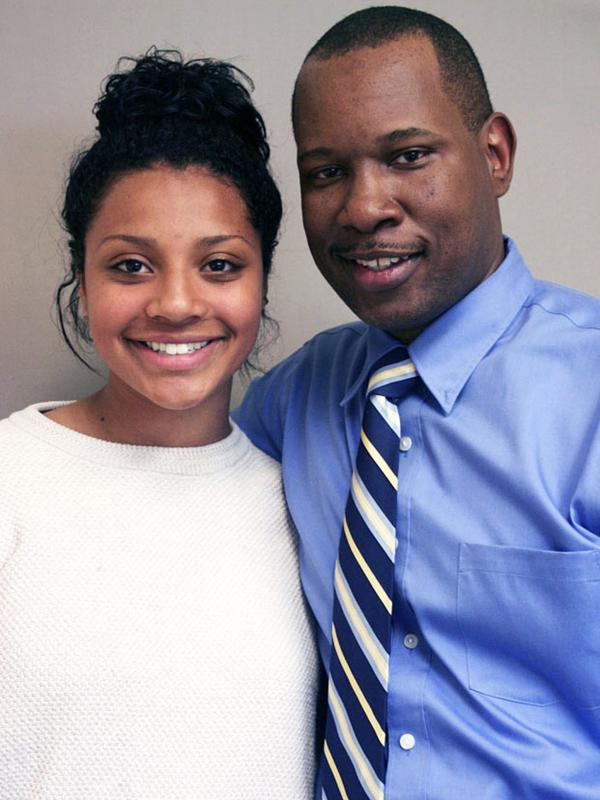 Wil Smith visited StoryCorps with his daughter, Olivia, in Sheffield, Mass.