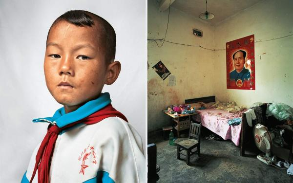 Dong is 9 years old. He lives in the province of Yunnan in Southwest China, with his parents, sister and grandfather. He shares a room with his sister and parents. They are a poor family who own just enough land to grow their own rice and sugar cane.