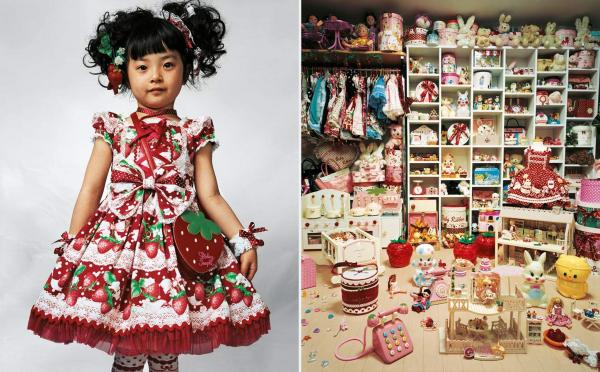 Four-year-old Kaya and her parents live in a small apartment in Tokyo.