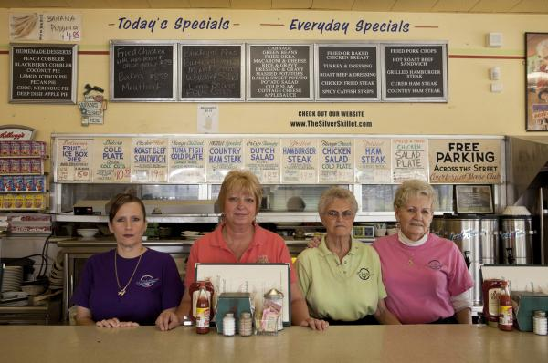 <em>Staff at The Silver Skillet restaurant,</em> 2011