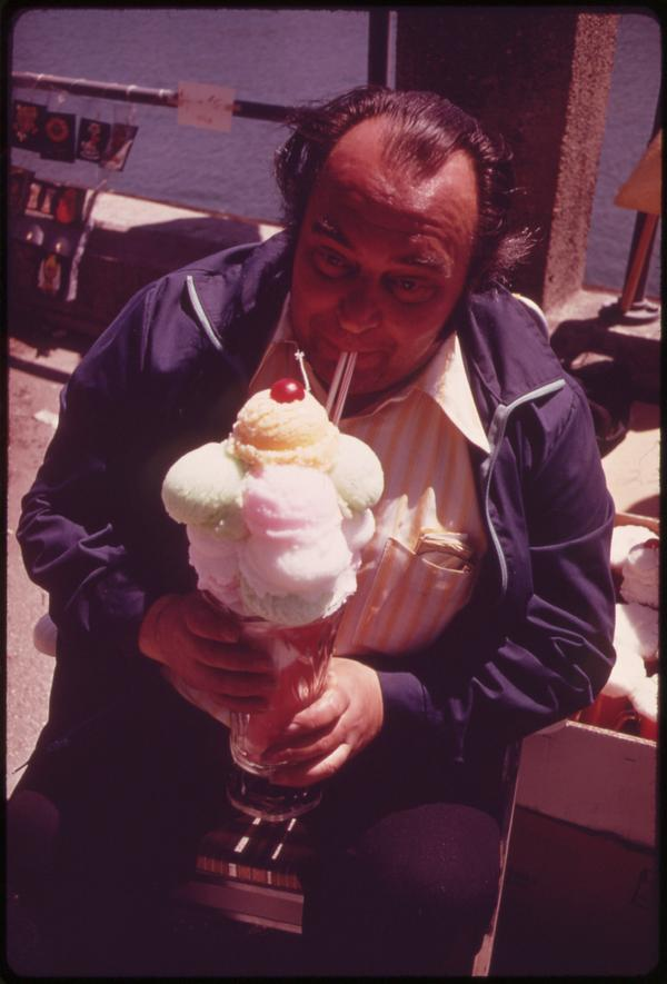 T.G.I.Sundae! (Sheepshead Bay Annual Art Show, 1973)
