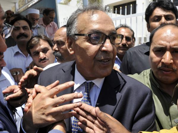 Makhdoom Shahabuddin, who has been nominated to be Pakistan's next prime minister.
