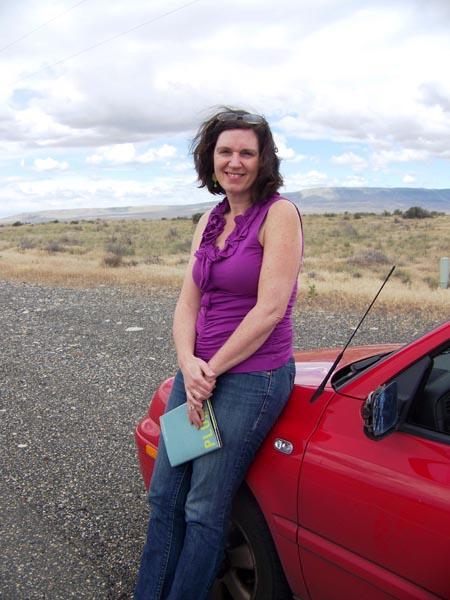 "Washington's poet laureate Kathleen Flenniken has released a new book of poetry and remembrances of Richland, Washington and the Hanford Nuclear Reservation called ""Plume."" Photo by Anna King"