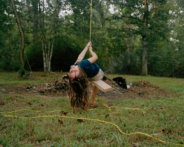 <em>Kaylen Swinging,</em> 2010