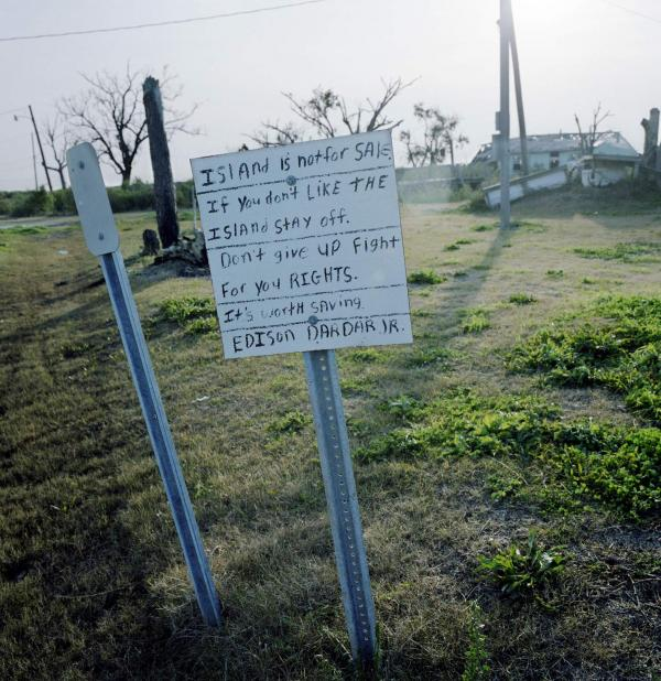 <em>The Entrance to Isle de Jean Charles, Louisiana,</em> 2009
