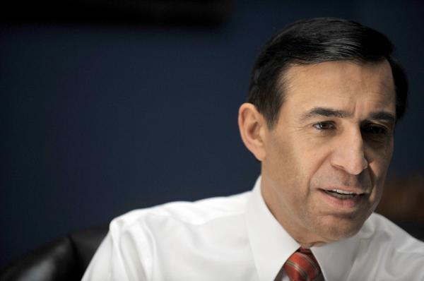 This December 7, 2010 file photo shows U.S. Republican Representative Darrell Issa of California, chairman of the Oversight and Government Reform Committee.
