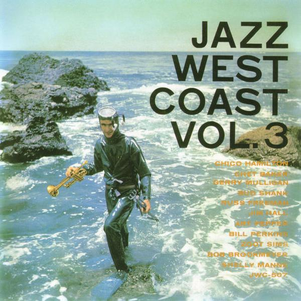 Cover art to the compilation <em>Jazz West Coast Vol. 3.</em>