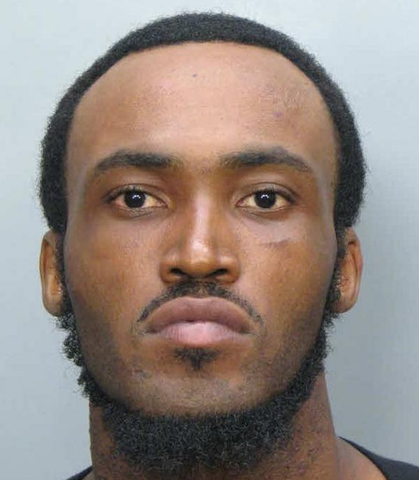 An undated booking mug made available by the Miami-Dade Police Dept., showing Rudy Eugene.