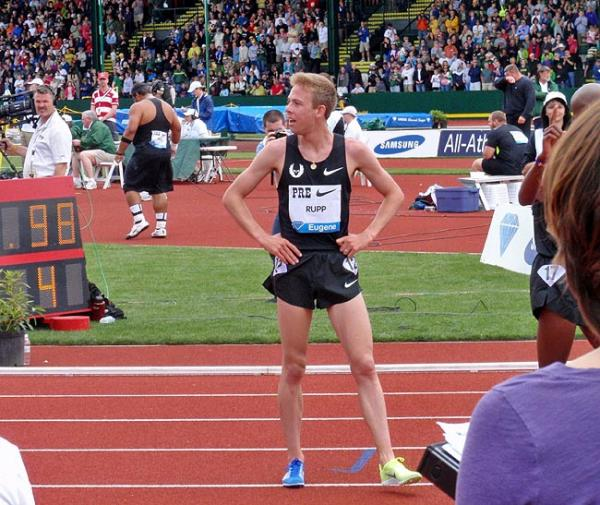 Portland native Galen Rupp is aiming to qualify for the 5,000 meters at the Summer Olympics. Photo by Tom Banse