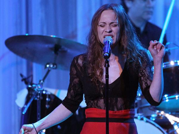 Recording artist Fiona Apple performs in February 2011.
