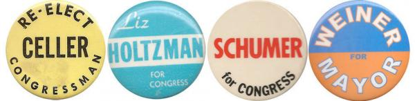 Since 1923, the district has been represented by Democrats Celler, Holtzman, Schumer and Weiner.