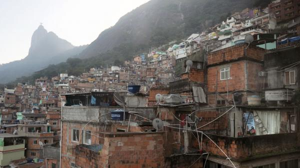 <p>Santa Marta is one of the many slums that dot the hillsides of Rio de Janeiro, Brazil. Rio, host of the World Cup in 2014 and the Olympics in 2016, is now trying to remake these slums, or <em>favelas</em>, long wracked by poverty and violence.</p>