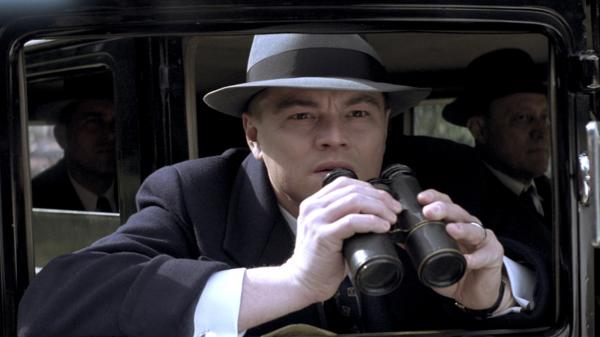 Leonardo DiCaprio plays J. Edgar Hoover in <em>J. Edgar</em>, a biopic written by Dustin Lance Black.