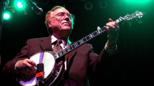 Earl Scruggs performs in Atlanta in 2003.