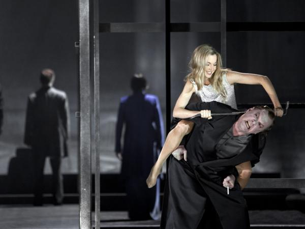 Daniel Barenboim directs the opera,<em> Lulu,</em> at the Staatsoper Berlin.