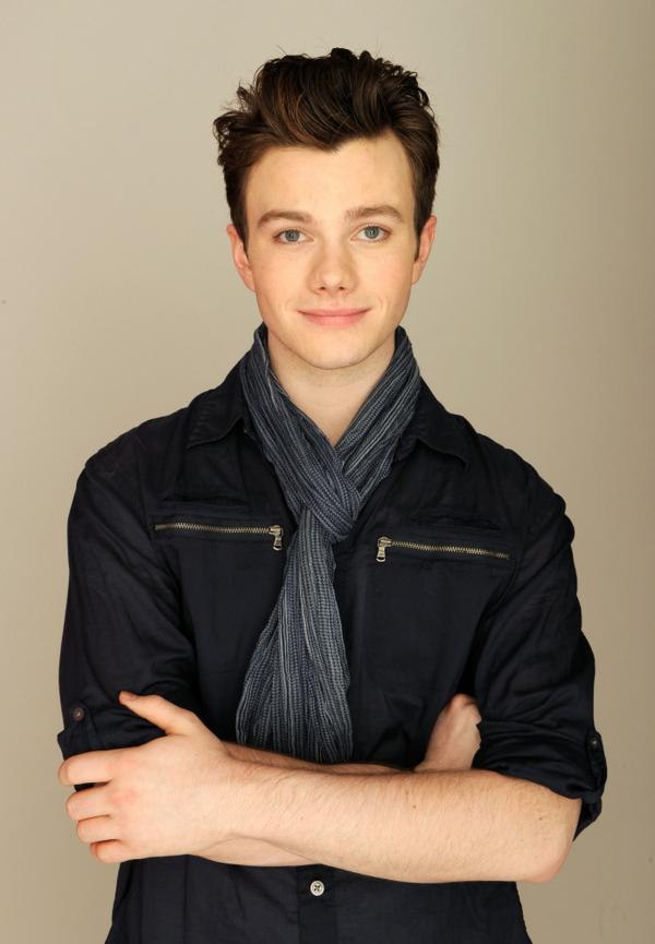 Chris Colfer, writer and star of <em>Struck By Lightning</em>, at the Tribeca Film Festival, where the film is playing.