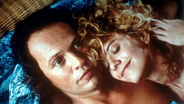 Billy Crystal and Meg Ryan in Rob Reiner's 1989 film <em>When Harry Met Sally</em>.
