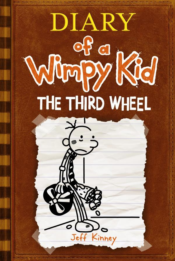 "Love is in the air in the seventh installment of the Wimpy Kid series. <em></em>""There's so much humor to be mined in the world of middle school romance,"" Kinney says. <em>The Third Wheel</em> will be published on Nov. 13. <a href=""http://www.wimpykid.com/"">Click here to visit the Wimpy Kid website.</a>"