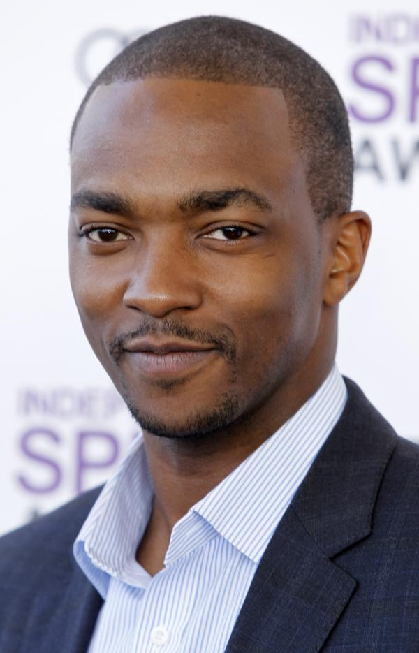 Actor Anthony Mackie (AP Photo/Joel Ryan)