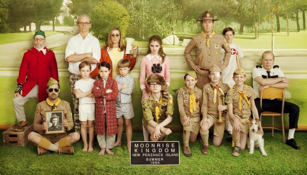 The cast of <em>Moonrise Kingdom</em><em>. </em>