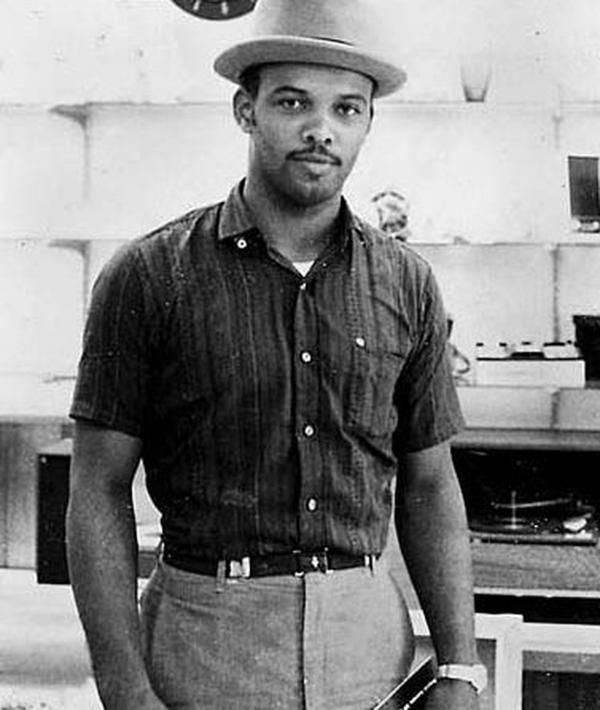 Alfred Hair, one of the original Highwaymen painters.