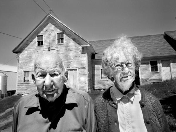 A photograph from the series <em>Sending Milk,</em> a documentary project about the family farms of Vermont.