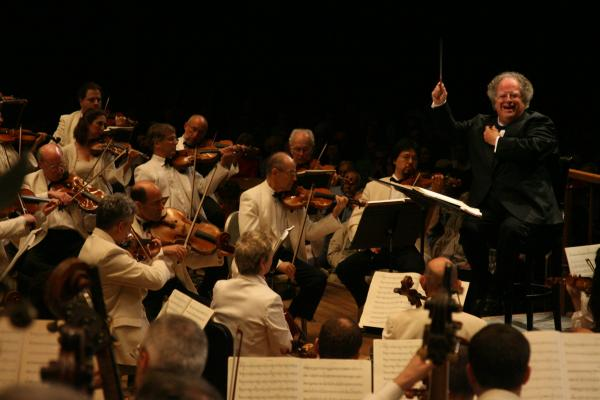 2008: James Levine conducts Berlioz' infrequently heard <em>Les Troyens</em> on Tanglewood's opening night.