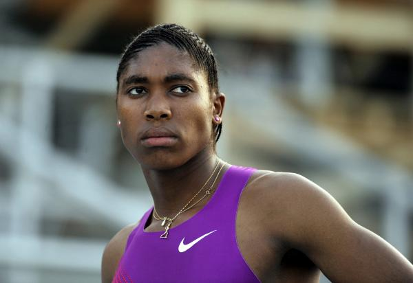 South African athlete Caster Semenya's gender was investigated after winning gold in the women's 800m at the 2009 World Championships. Here she prepares for a meet in 2010.