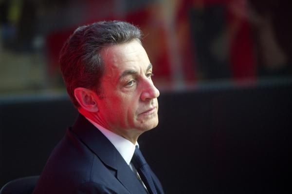 French ex-president Nicolas Sarkozy.