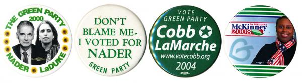 Green Party presidential candidates never attracted much support, but in 2000 they certainly attracted attention.