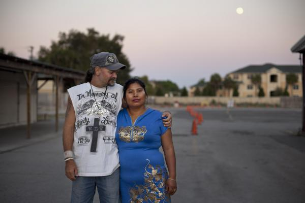 Nelly Boyette was an illegal immigrant from Peru when she met her future husband, Jeff, a day laborer at a local flea market. They fell in love and were happily married until immigration officials threatened deportation on the grounds of marriage fraud. The flea market community came to their rescue.