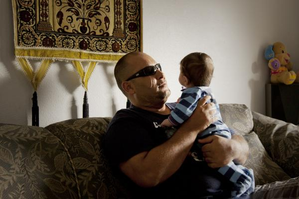 While working as a bodyguard for U.S. contractors in Iraq, a car bomb exploded near Hayder Abdulwahab's home. When he regained consciousness, he found he was blind and left for dead in a Baghdad morgue. Rescued by his brother, Hayder began a new life as a refugee in Tampa, Fla. Still blind, though slowly regaining some sight through a series of operations, Hayder is working to build a new future.