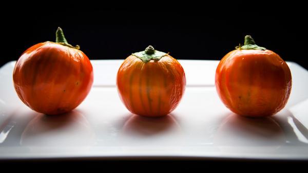 Move over, purple, make way for orange eggplants.