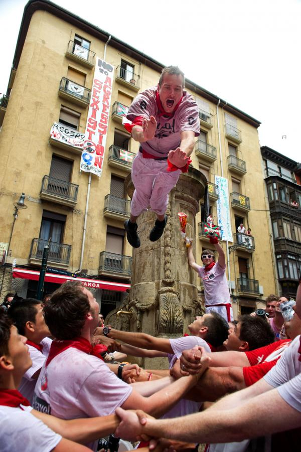 Summertime is Spain's festival season. Villages across the country will honor their patron saints with more wild parties. But come September, a hangover just might be waiting.