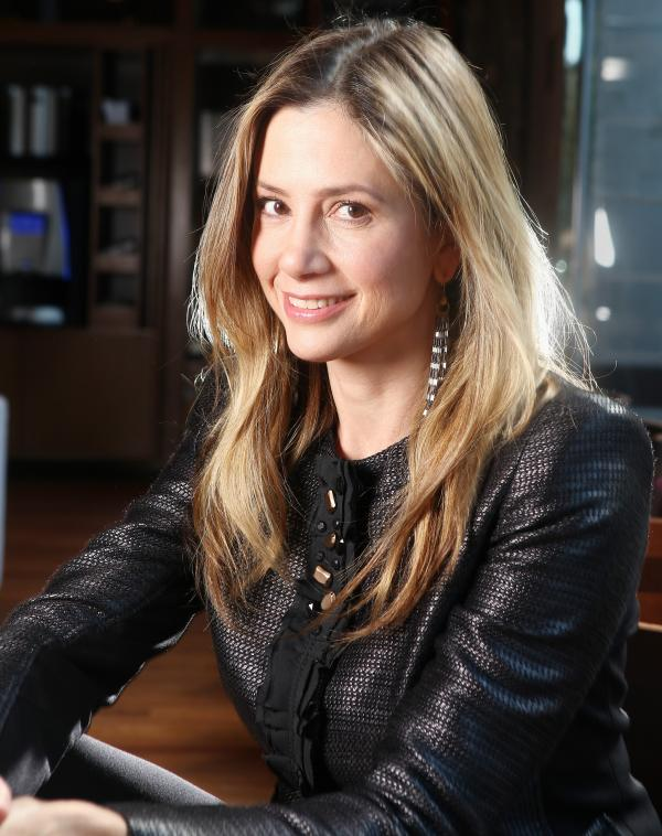 Mira Sorvino stars in the new film <em>Union Square</em>.