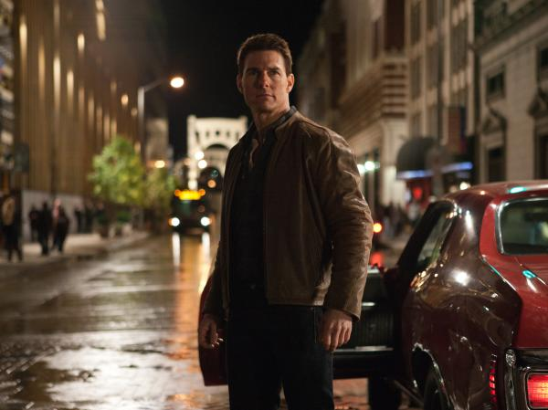 Tom Cruise as the title character in the upcoming film, <em>Jack Reacher</em>, based on the character created by Lee Child.
