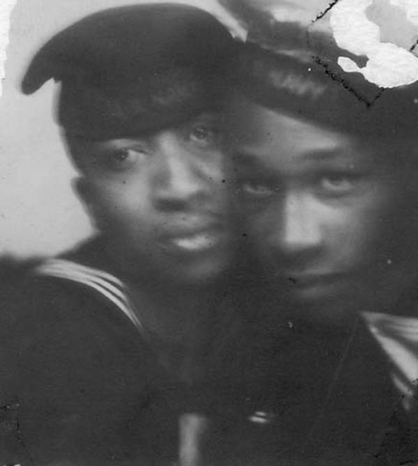 "Photographs from ""Hidden in the Open,"" a Flickr collection exploring the idea of African-American male couples."