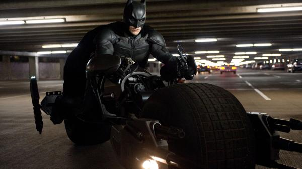 Christian Bale as Batman in <em>The Dark Knight Rises</em>. The final film in Christopher Nolan's Batman trilogy, which began with <em>Batman Begins </em>in 2005, deals explicitly with our contemporary political times.
