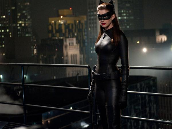 Selina Kyle, aka Catwoman (Anne Hathaway), is one of the characters proficient in Occupy-style talking points in <em>The Dark Knight Rises</em>.<em> </em>