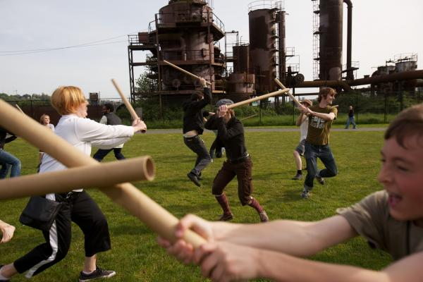 Cardboard Tube Fighting League, Seattle