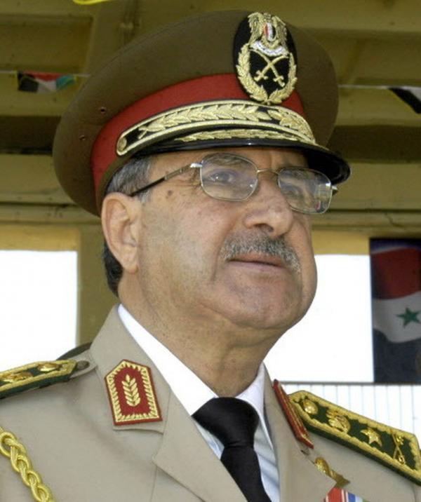 Syrian Defense Minister Gen. Dawoud Rajha last September.